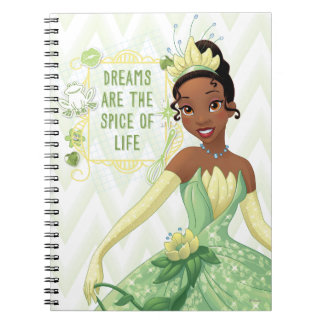 Tiana - Dreams Are The Spice Of Life Notebooks