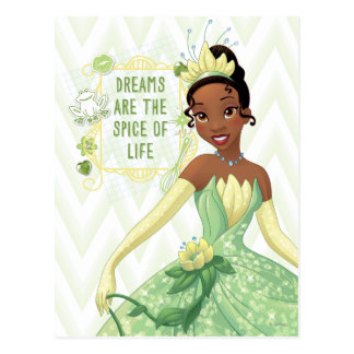 Tiana - Dreams Are The Spice Of Life Postcard
