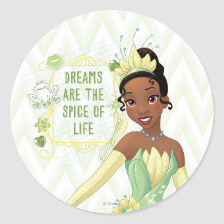 Tiana - Dreams Are The Spice Of Life Stickers