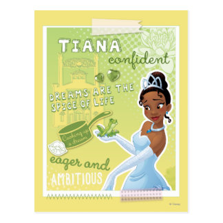 Tiana - Eager and Ambitious Postcard