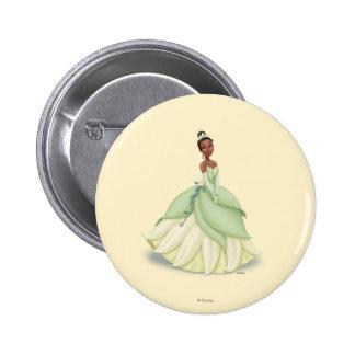 Tiana Green Dress Buttons