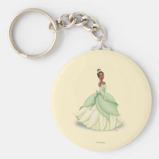 Tiana Green Dress Keychain