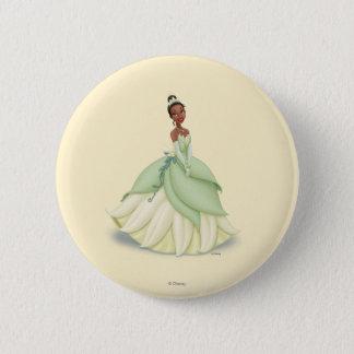 Tiana Green Dress Pinback Button