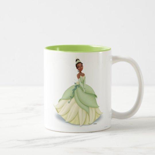 Tiana Green Dress Two-Tone Coffee Mug