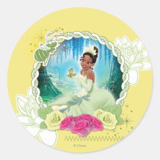 Tiana - I am a Princess Classic Round Sticker