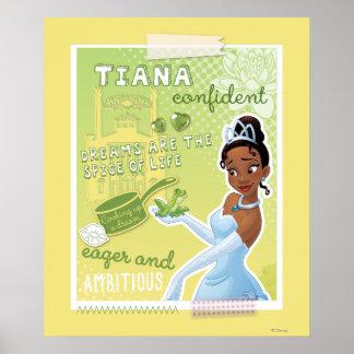 Tiana - impaciente y ambiciosa impresiones