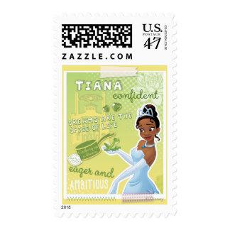 Tiana - impaciente y ambiciosa sello postal