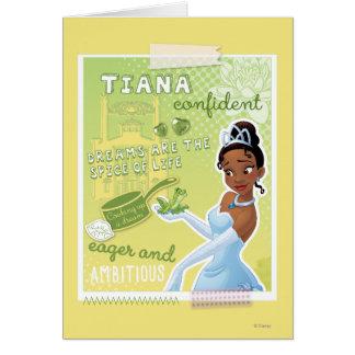 Tiana - impaciente y ambiciosa tarjeta de felicitación