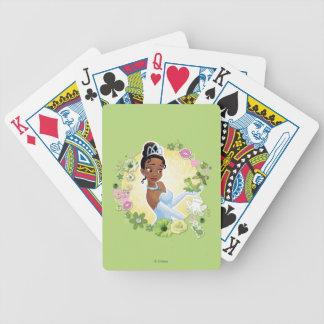 Tiana - inspirando baraja cartas de poker