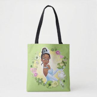 Tiana - inspirando bolsa de tela