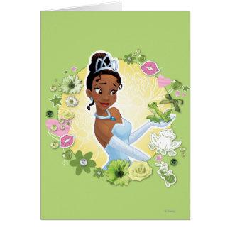 Tiana - inspirando tarjeta de felicitación