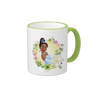 Tiana - inspirando taza de dos colores