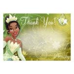 Tiana le agradece las tarjetas