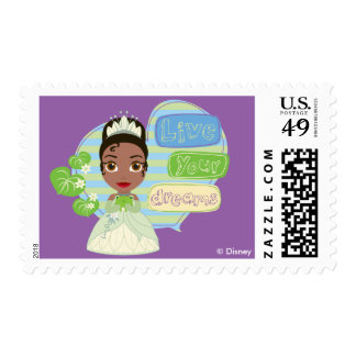 Tiana | Live Your Dreams Postage
