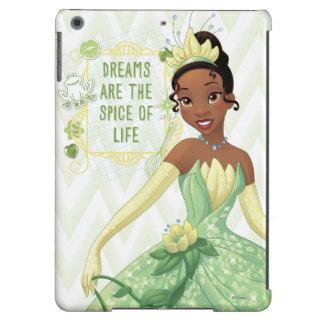 Tiana - los sueños son la especia de la vida funda para iPad air