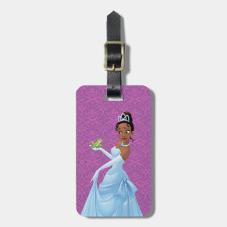 Tiana | Loyalty Is Royalty Luggage Tag