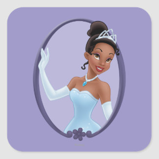 Tiana Mirror Square Sticker