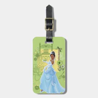 Tiana - princesa confiada etiquetas para equipaje