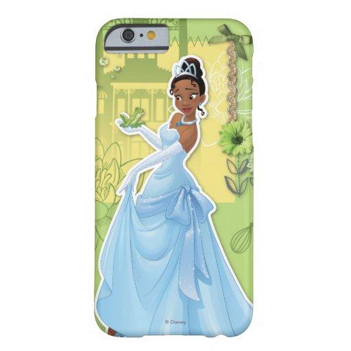 Tiana - princesa confiada funda de iPhone 6 barely there