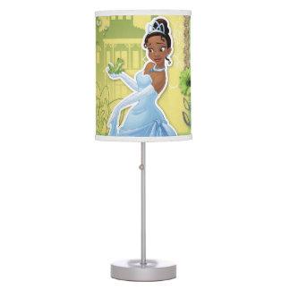 Tiana - princesa confiada lámpara de mesilla de noche