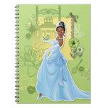 Tiana - princesa confiada libreta espiral