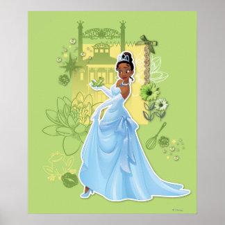 Tiana - princesa confiada póster
