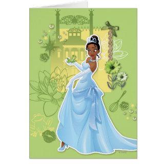 Tiana - princesa confiada tarjeta de felicitación