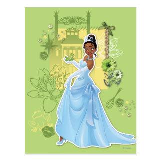 Tiana - princesa confiada tarjeta postal