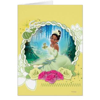 Tiana - soy princesa tarjeta de felicitación