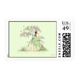 Tiana Under Tree Postage