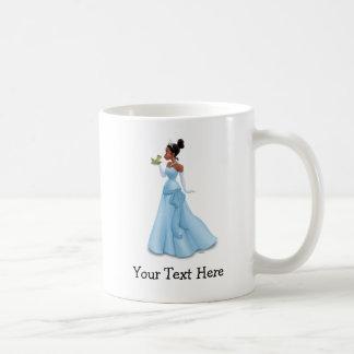 Tiana y rana taza clásica