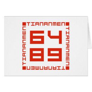 Tiananmen Square 6/4/1989 Cards