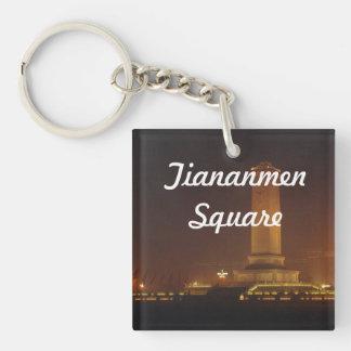 Tiananmen Square Acrylic Key Chain