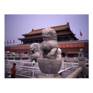 Tianenmen Square Postcard