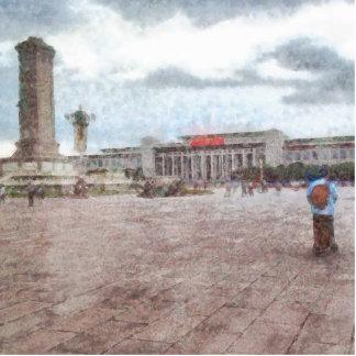 Tianmen square in Beijing Cutout
