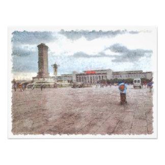 Tianmen square in Beijing Photo Print