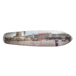 Tianmen square in Beijing Skateboard