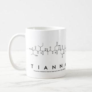 Tianna peptide name mug