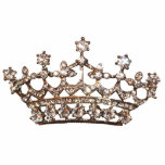"""Tiara and Gems Sculpture<br><div class=""""desc"""">Majestic Tiara Sculpture - Gem of a gift for any Diva!  These make fabulous awards,  party decor or cake tops!  Check out all tiara designs!</div>"""