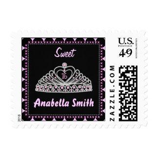 Tiara del dulce 16 sellos