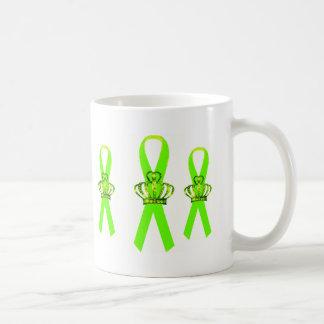 Tiara Ribbon Mental Health Awareness Mugs