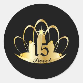 TIARA, Sweet, 15 Sticker-Customize