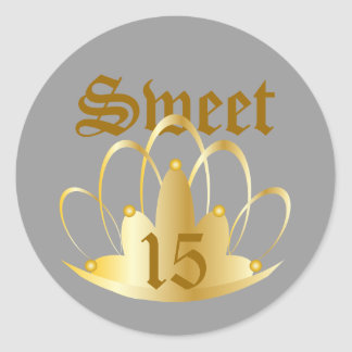 TIARA, Sweet, 16 Sticker-Customize