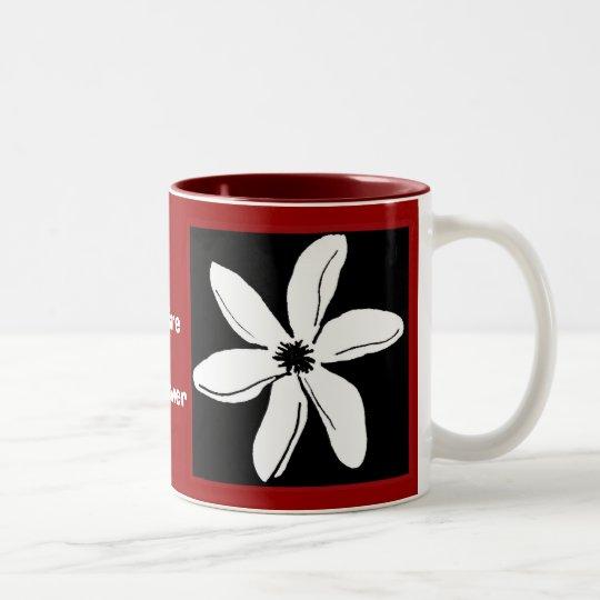Tiare Flower mug