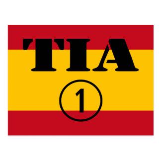 Tías españolas: Uno de Tia Numero Postal
