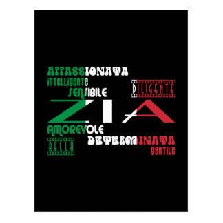 Tías italianas: Calidades Postal