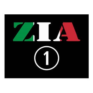 Tías italianas: Uno de Zia Numero Tarjeta Postal