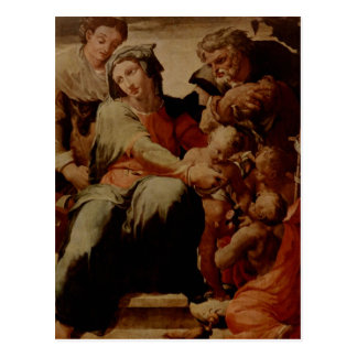Tibaldi, Pellegrino Heilige Familie Italiano: Pell Postcard