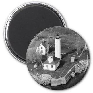 Tibbetts Point Lighthouse Refrigerator Magnet