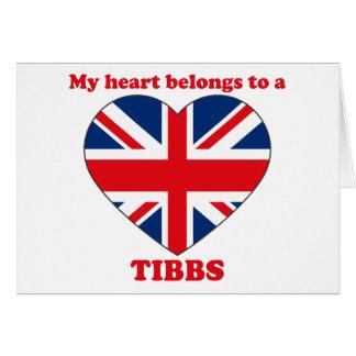 Tibbs Card